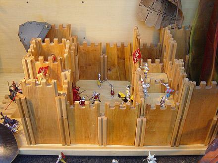 Manualidades como hacer un castillo medieval imagui - Manualidades castillo medieval ...