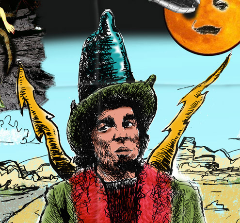 cpt beefheart detail colored