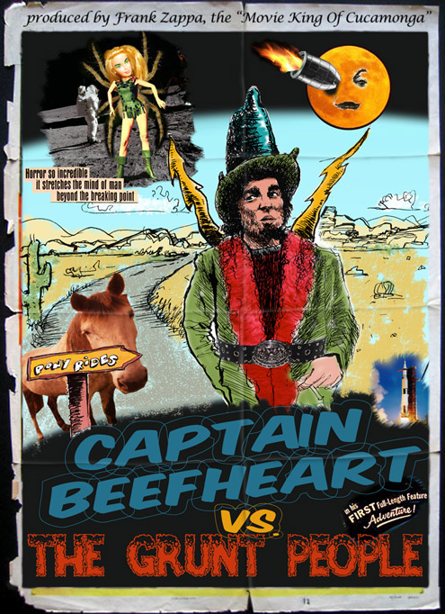 cpt beefheart vs the grunt people