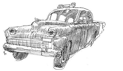 De Soto preliminary sketch