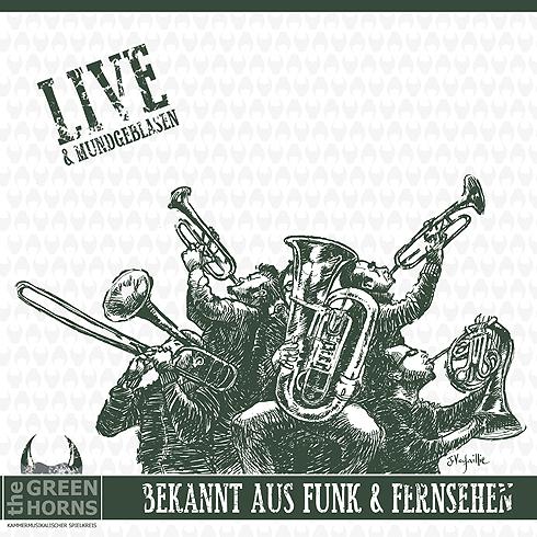 Greenhorns CD cover